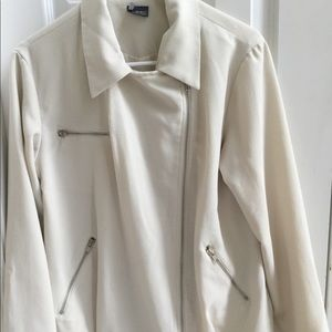 Cream jacket Sparkle & Fade Urban Outfitters Small